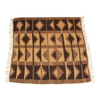 Mid Century Geometric Rug For Sale