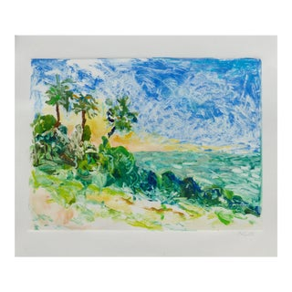 Sunset on the Pacific Ocean For Sale