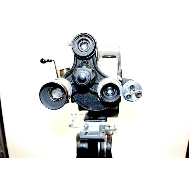 Art Deco Celeb Owned Circa 1930 Movie Camera 35MM Bell and Howell As Sculpture For Sale - Image 3 of 8