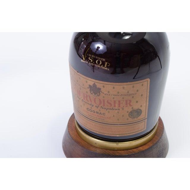 Vintage Courvoisier Bottle Lamp For Sale In New York - Image 6 of 10