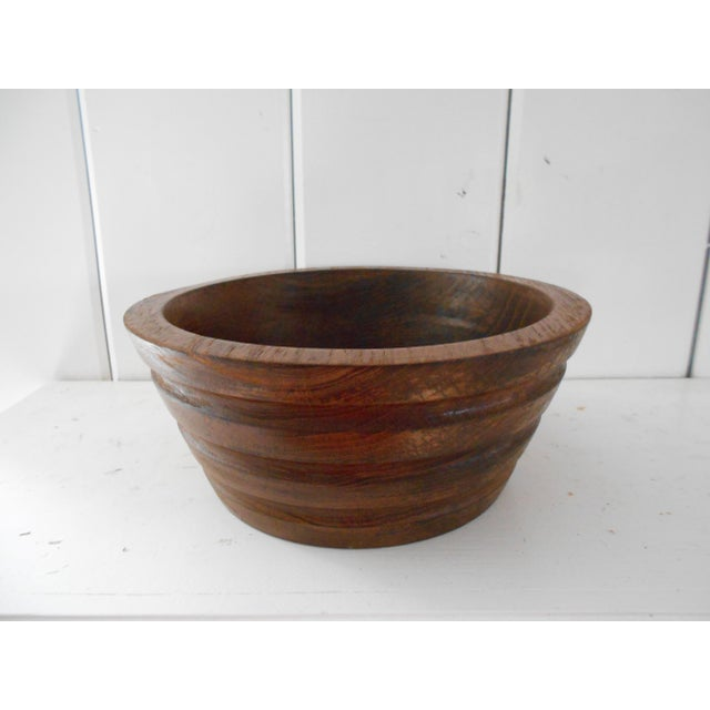 Vintage Teak Bowl - Image 4 of 7