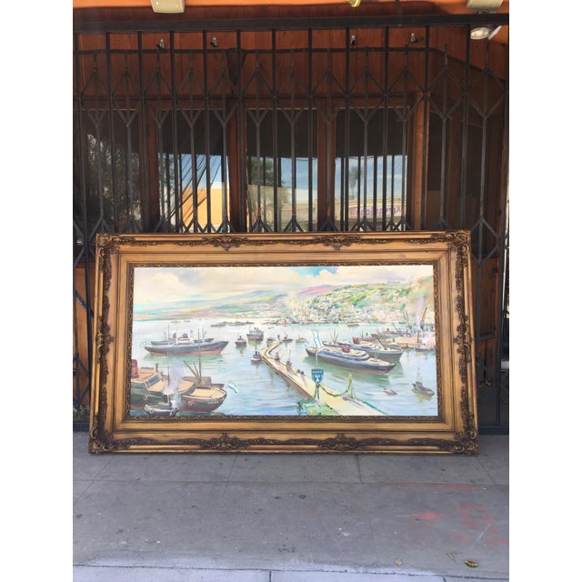 Beautiful victorian styled picture frame painting. WIll make a beautiful addition to any wall!