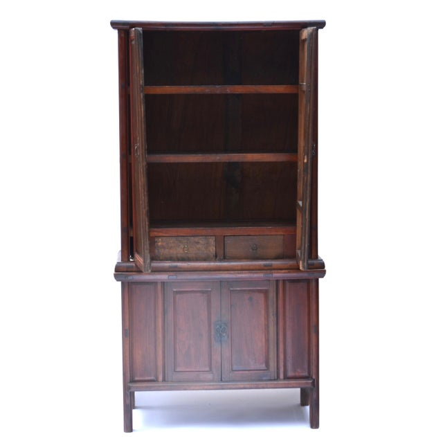 19th Century Chinese Camphor Wood Cabinet For Sale - Image 10 of 12