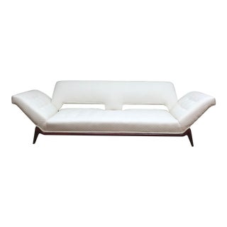 Mid Century Modern Adrian Pearsall Style Gondola Sofa For Sale