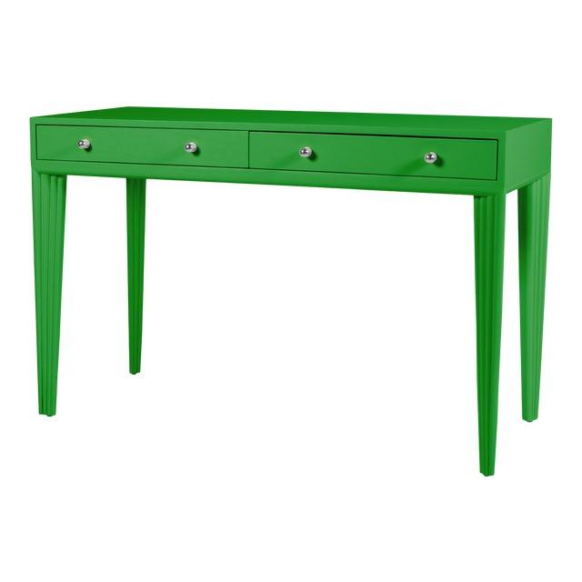 Barcelona Desk - Bright Green For Sale