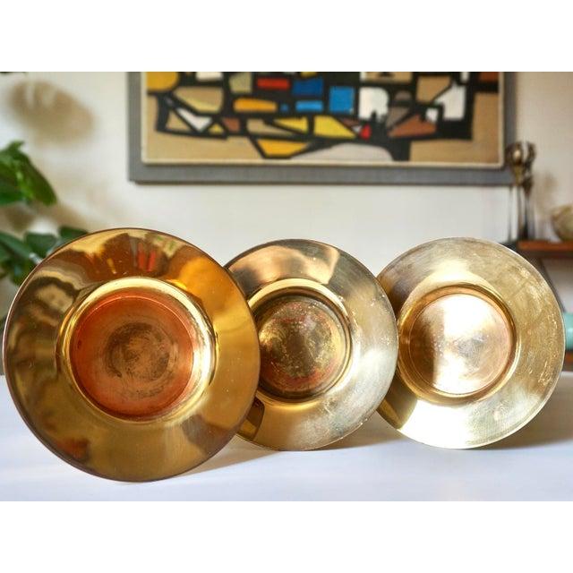 Tapio Wirkkala Bronze Candle Holders- Set of 3 - Image 5 of 5