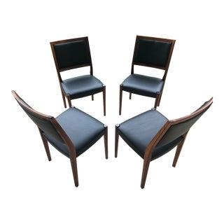 1950's Svegards Markaryd Danish Modern Chairs- Set of 4 For Sale