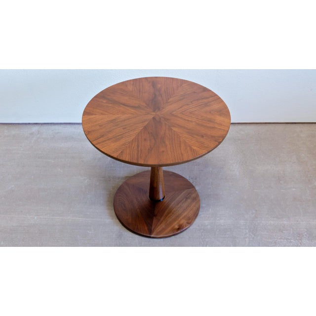 1960s Mid Century Modern Drexel Declaration Pedestal Side Table For Sale In Las Vegas - Image 6 of 6
