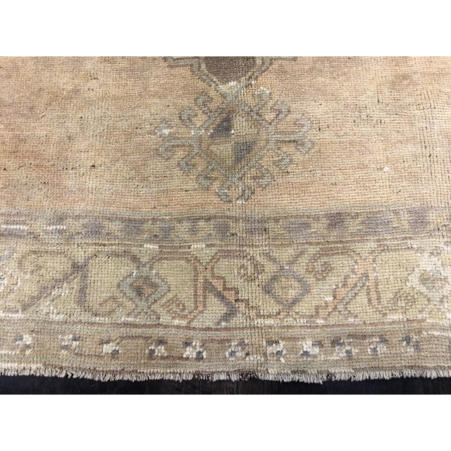 Turkish Oushak Runner - 5' x 13' - Image 7 of 8