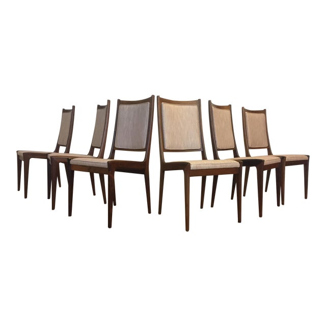 Karl Erik Ekselius for JOC Rosewood Dining Chairs- Set of 6 - Image 1 of 7