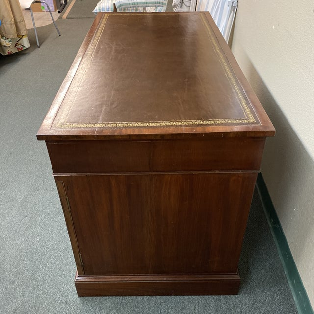 Early 20th Century English Colonial Three Piece Desk For Sale - Image 11 of 13