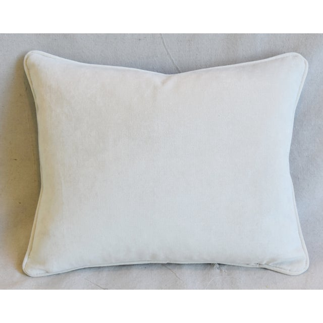 """Early 21st Century Italian Chinoiserie Scalamandre Dragon Feather/Down Pillow 18"""" X 15"""" For Sale - Image 5 of 7"""