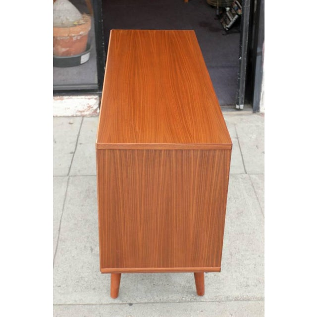 Mid-Century Modern Mid-Century Style Walnut Credenza For Sale - Image 3 of 11