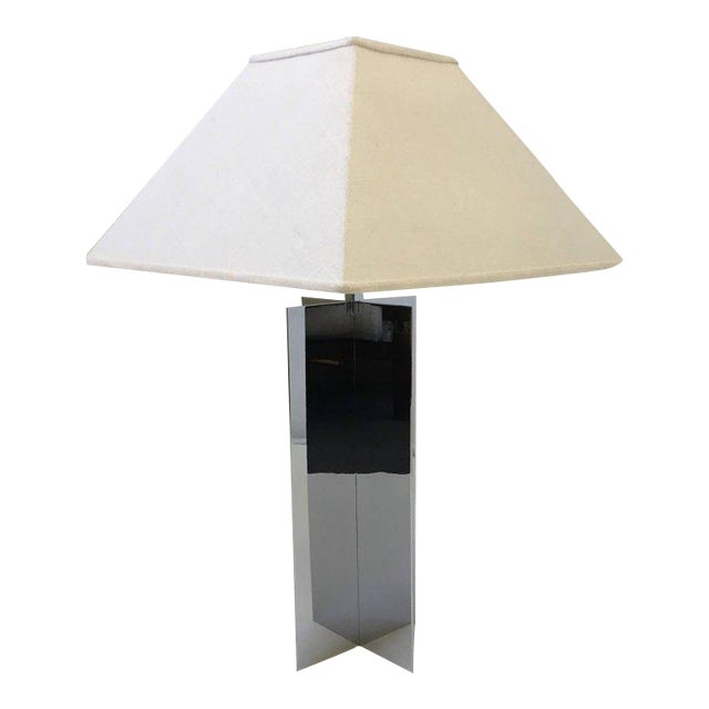 Polished Aluminium Table Lamps by Paul Mayen for Habitat - A Pair For Sale