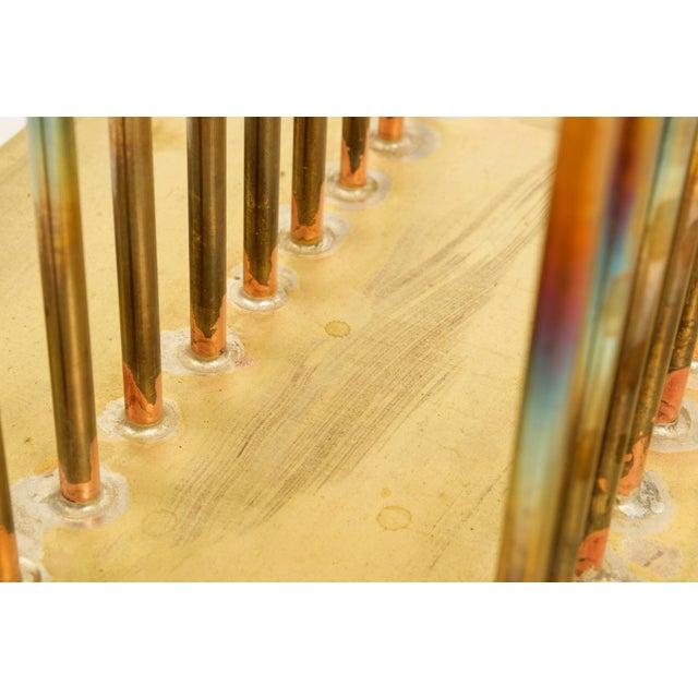 Gold Bertoia Studios Sonambient Sculpture by Val Bertoia For Sale - Image 8 of 11
