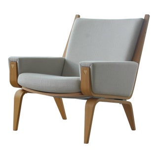 Danish Lounge Chair Model 501 by Hans WEgner for Getama
