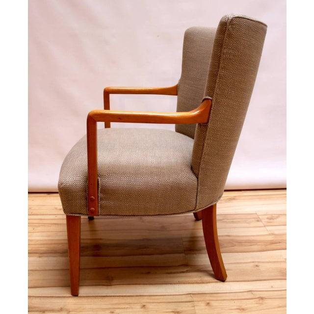 Mid-Century Modern Lounge Chairs - Pair - Image 4 of 10