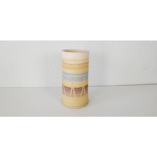 Bill Yeaman Signed Pottery Wine Brick For Sale - Image 9 of 9