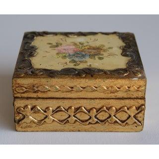 Vintage Florentine Style Box Preview