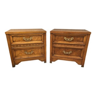 Henry Link Mandarin Collection Nightstands - a Pair For Sale