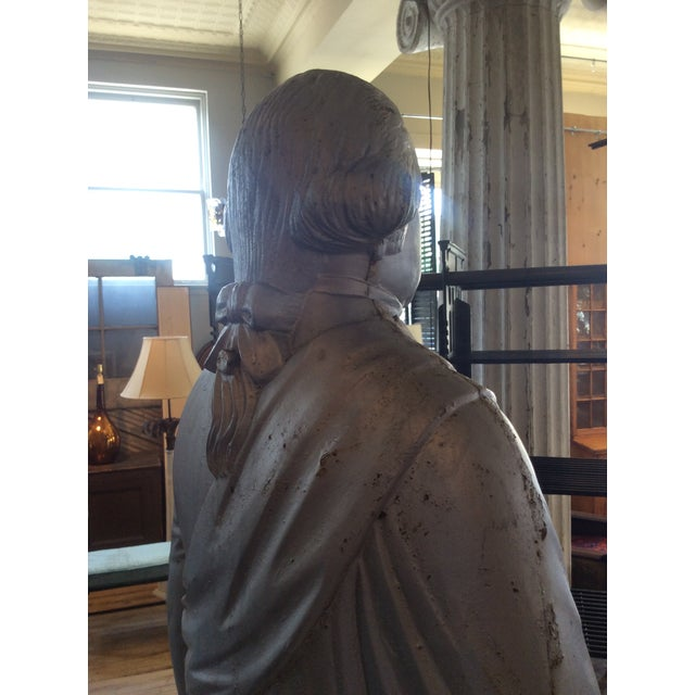 George Washington 1870's Cast Iron Stove Figure For Sale In New York - Image 6 of 12