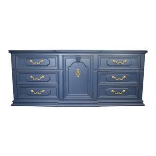 Thomasville Dark Blue Dresser For Sale