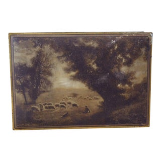 1920s Tin Box by Uneeda Biscuit For Sale