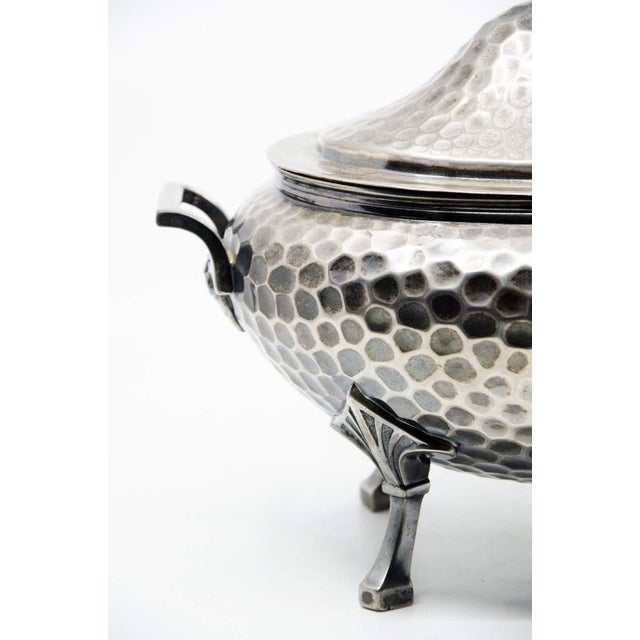 19th C. Meriden B. Company Silver Plated Soup Tureen and Spoon - a Pair For Sale In Atlanta - Image 6 of 13