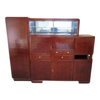 Art Deco Bar Cabinet For Sale