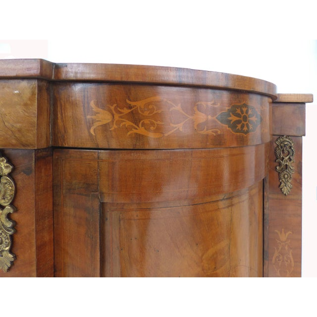 Italian Inlaid & Bronze Mount Buffet - Image 9 of 11