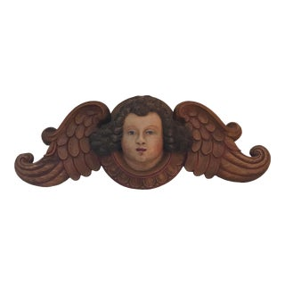Religious Cherub Angel Putti Wall Hanging For Sale
