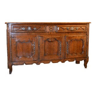 Mid 18th Century Country French Buffet For Sale