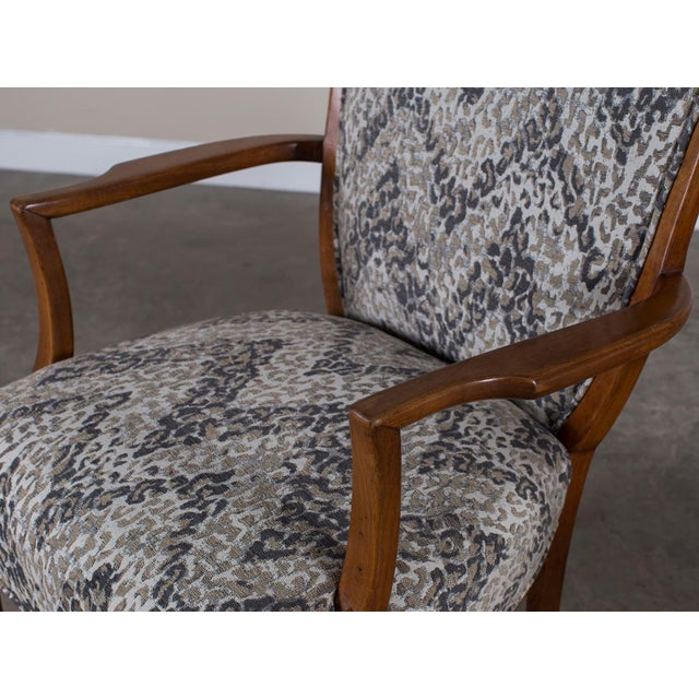 1940s Vintage French Art Deco Beechwood Chairs - a Pair For Sale In Houston - Image 6 of 11
