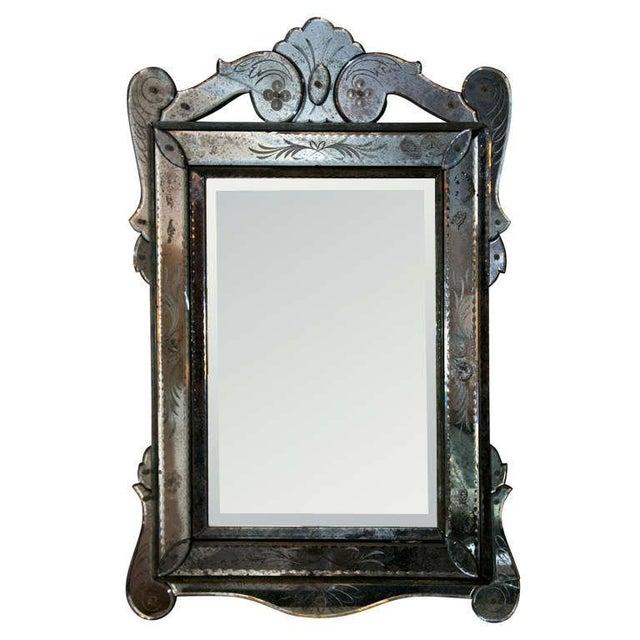 Venetian Glass Wall Mirror - Image 1 of 6