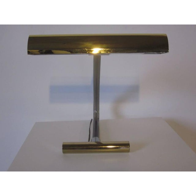 Peter Hamburger Brass and Lucite Desk Lamp For Sale In Cincinnati - Image 6 of 6