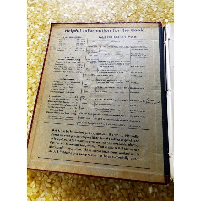 1930s Leather Bound Grocery Store Cookbook - Image 5 of 9