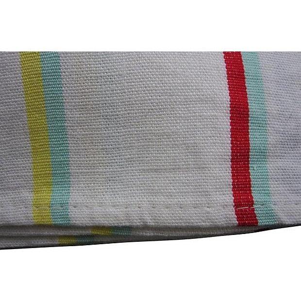 Vintage Awning Stripe Oversize Napkins - S/4 - Image 3 of 4