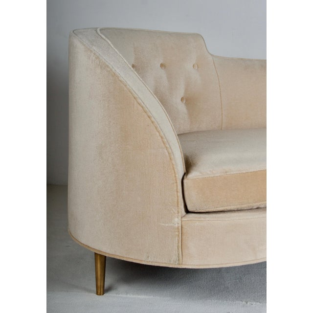 Dunbar Furniture Oasis Sofa by Wormley for Dunbar For Sale - Image 4 of 13