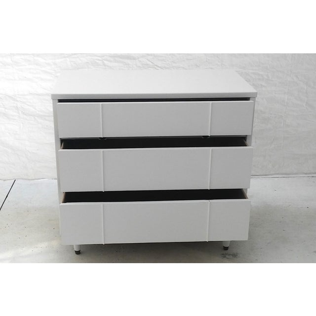 Kroehler Mid-Century White Lacquer Dresser - Image 5 of 10