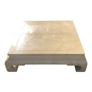 Ming Dynasty Coffee Table Goat Skin For Sale