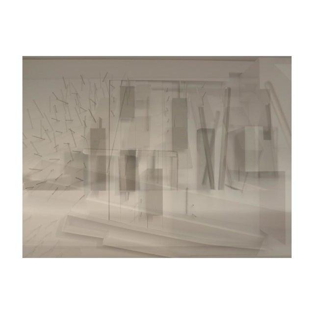 "Petra Hribar ""Space"" Floating Print - Image 1 of 2"