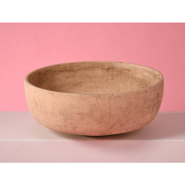 """1960s JOHN FOLLIS BISQUE PLANTER FOR ARCHITECTURAL POTTERY 21"""" PLANTER, 1960S For Sale - Image 5 of 9"""