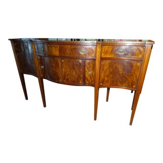 19th Century Antique Marquetry Sideboard For Sale