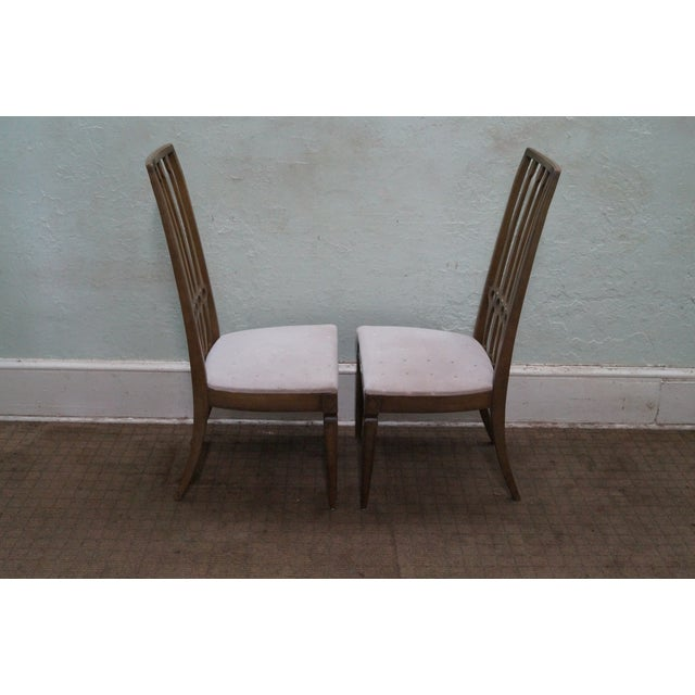 Hollywood Regency Thomasville Mid Century Hollywood Regency Chairs For Sale - Image 3 of 10