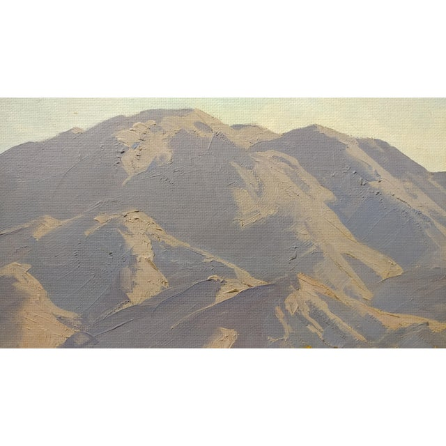 Darving Duncan - Beautiful California Desert Landscape-Impressionsit -oil Painting - Image 5 of 10