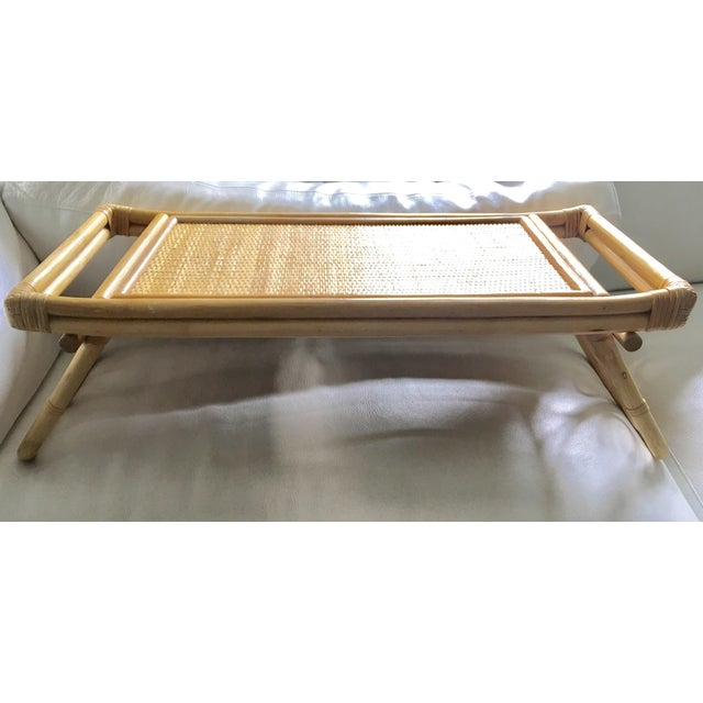 Mid-Century Breakfast in Bed Bamboo Tray - Image 2 of 8