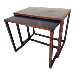 Karl-Erik Ekselius Nesting Tables - 2 Pieces For Sale
