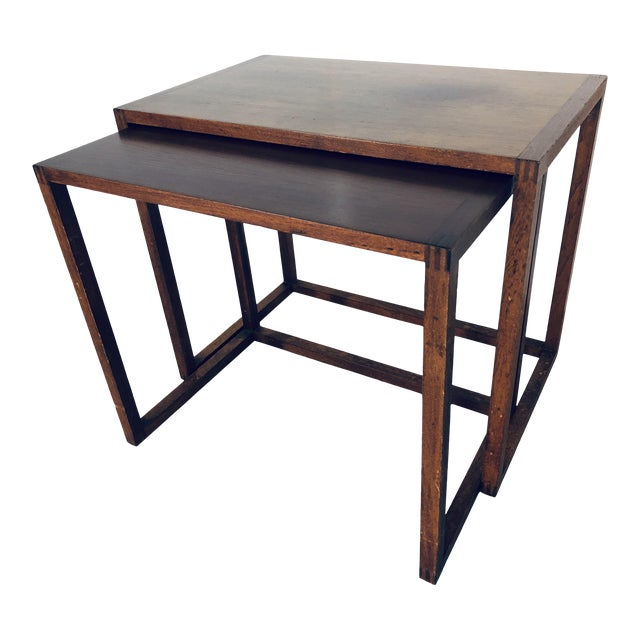 Karl-Erik Ekselius Nesting Tables for j.o. Carlsson - 2 Pieces For Sale
