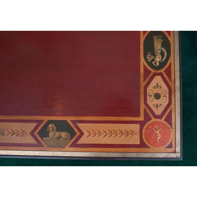 Neoclassical Late 20th Century Neoclassical Style Coffee Table For Sale - Image 3 of 8