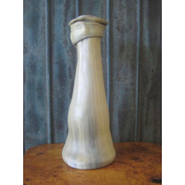 1970s Vintage Remo Pintus Postmodern Organic Sculptural Resin Vase For Sale - Image 4 of 8